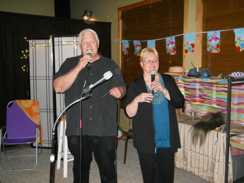 Gary and Me singing