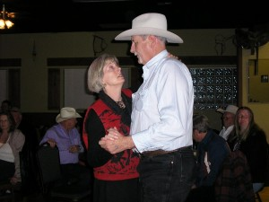 Donna and Bill dancing good